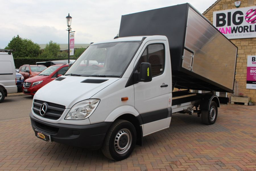 MERCEDES SPRINTER 313 CDI MWB NEW ALLOY ARBORIST TIPPER - 6031 - 8