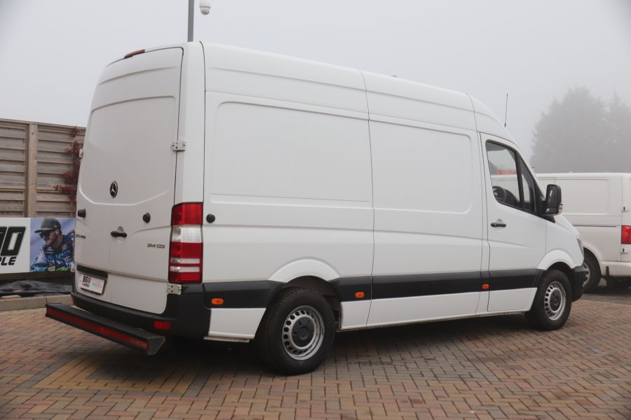 MERCEDES SPRINTER 314 CDI 140 MWB HIGH ROOF FRIDGE VAN - 12025 - 8