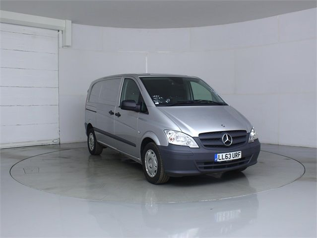 MERCEDES VITO 122 CDI 224 COMPACT SWB LOW ROOF - 7046 - 1