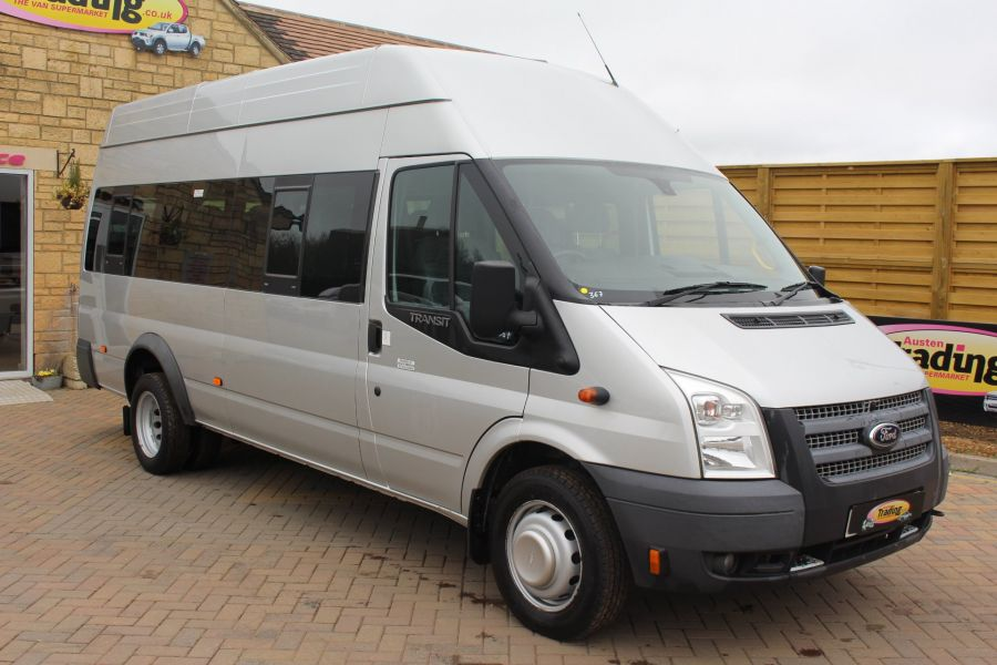 FORD TRANSIT 430 TDCI 135 HIGH ROOF 17 SEAT BUS - 5825 - 1