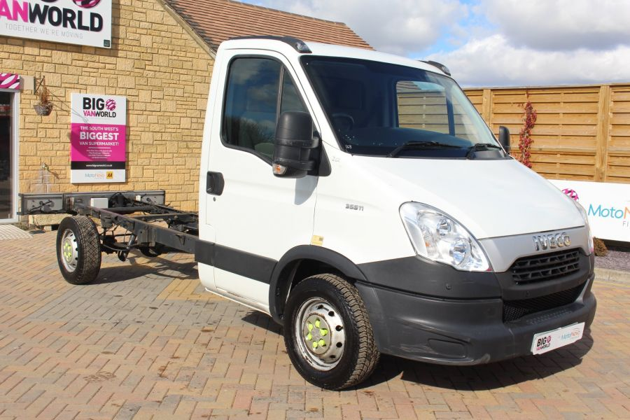 IVECO DAILY 35S11 3750 WB CHASSIS CAB - 7296 - 3