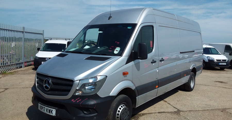 MERCEDES SPRINTER 514 CDI 140 BLUEEFFICIENCY LWB HIGH ROOF DRW - 11061 - 4