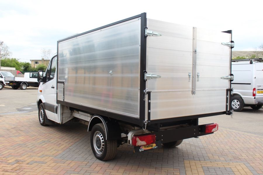 MERCEDES SPRINTER 313 CDI MWB NEW ALLOY ARBORIST TIPPER - 6031 - 13
