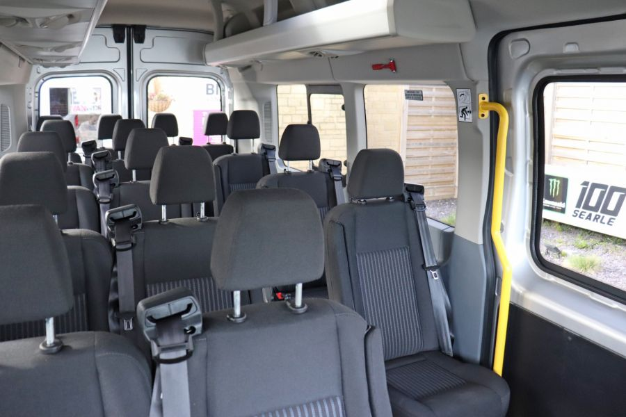 FORD TRANSIT 460 TDCI 155 L4H3 TREND 17 SEAT BUS HIGH ROOF DRW RWD - 11641 - 42