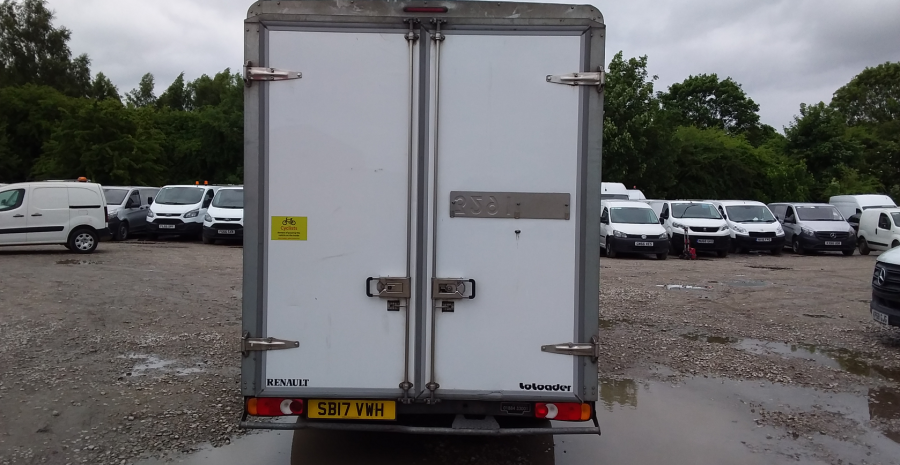 RENAULT MASTER LL35 DCI 130 BUSINESS LOW LOADER LUTON VAN RWD - 10844 - 5