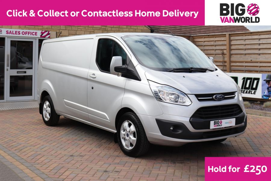 FORD TRANSIT CUSTOM 290 TDCI 130 L2H1 LIMITED LWB LOW ROOF FWD - 12272 - 1
