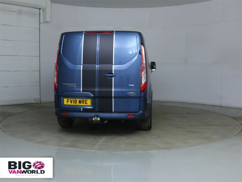 FORD TRANSIT CUSTOM 290 TDCI 170 L1 H1 SPORT SWB LOW ROOF FWD - 8961 - 4