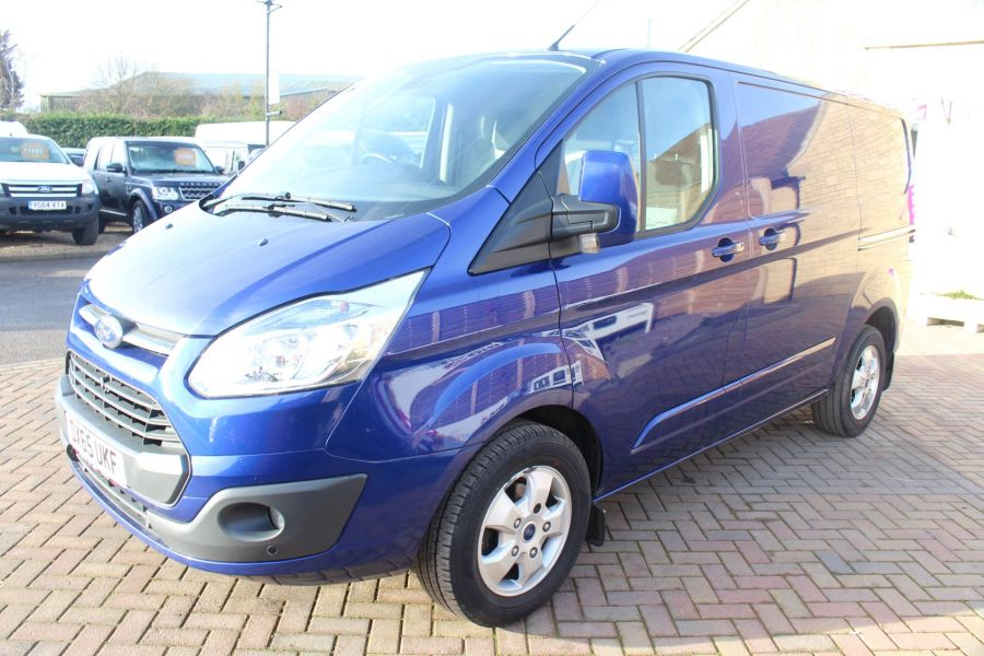 FORD TRANSIT CUSTOM 290 TDCI 155 L1 H1 LIMITED SWB LOW ROOF - 8952 - 8
