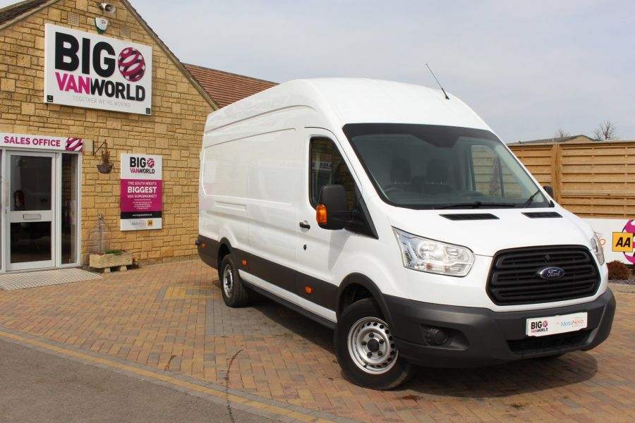 FORD TRANSIT 350 TDCI 125 L4 H3 JUMBO HIGH ROOF RWD - 7394 - 2