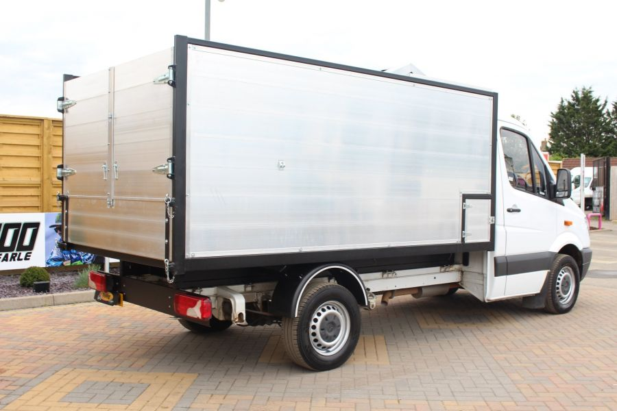 MERCEDES SPRINTER 313 CDI MWB NEW ALLOY ARBORIST TIPPER - 6031 - 12