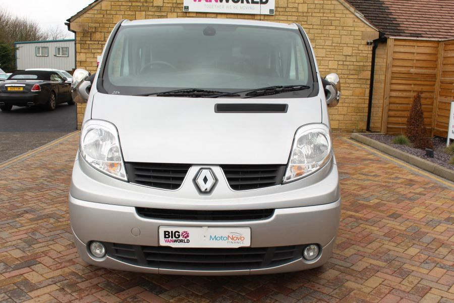 RENAULT TRAFIC LL29 DCI 115 SPORT LWB LOW ROOF DOUBLE CAB 6 SEAT CREW VAN - 7507 - 9