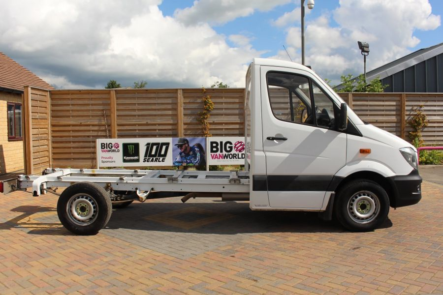 MERCEDES SPRINTER 313 CDI 129 MWB SINGLE CAB CHASSIS - 9641 - 7
