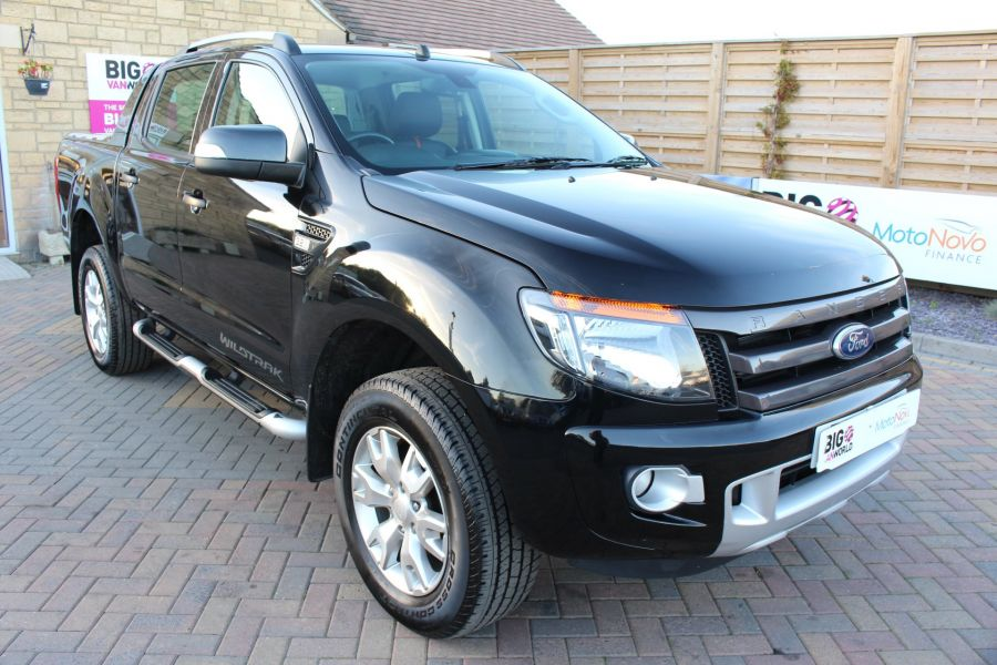 FORD RANGER WILDTRAK TDCI 200 4X4 DOUBLE CAB WITH ROLL'N'LOCK TOP - 8339 - 1