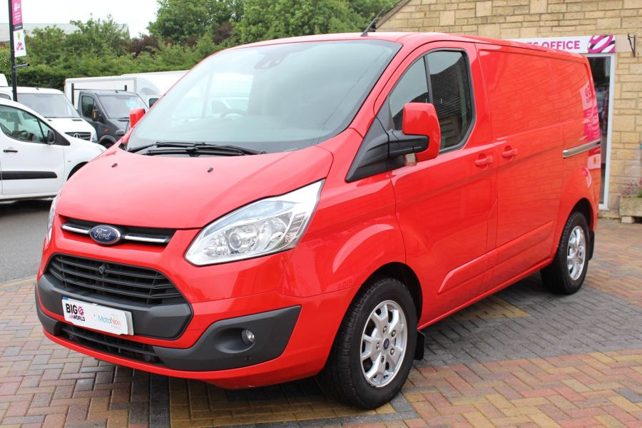 FORD TRANSIT CUSTOM 290 TDCI 125 L1 H1 LIMITED SWB LOW ROOF FWD - 9268 - 9