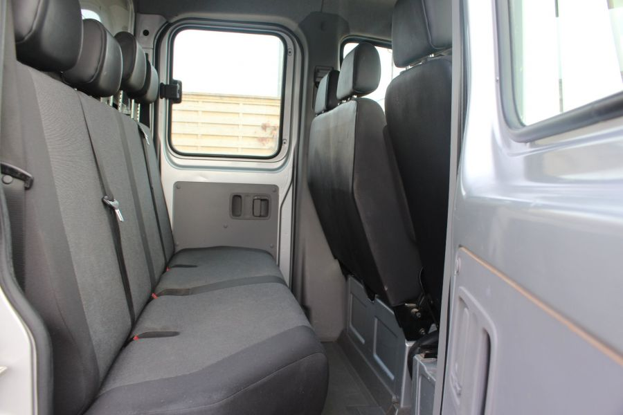 VOLKSWAGEN CRAFTER CR35 TDI 109 LWB 7 SEAT DOUBLE CAB ALLOY DROPSIDE - 9019 - 19