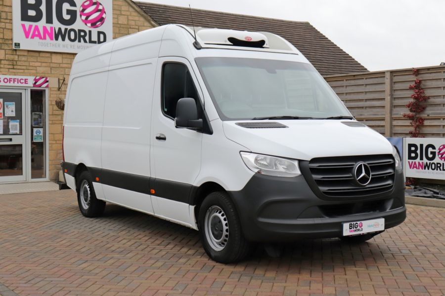 MERCEDES SPRINTER 314 CDI 143 L2H2 FRIDGE VAN MWB HIGH ROOF RWD - 12024 - 1