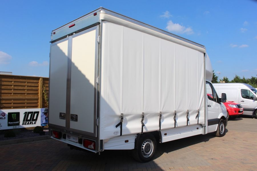 MERCEDES SPRINTER 313 CDI LWB CURTAIN SIDE BOX VAN - 6902 - 4