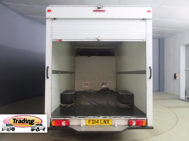 VAUXHALL MOVANO F3500 L3H1 CDTI 125 LOW LOADER 13FT LUTON - 6012 - 8