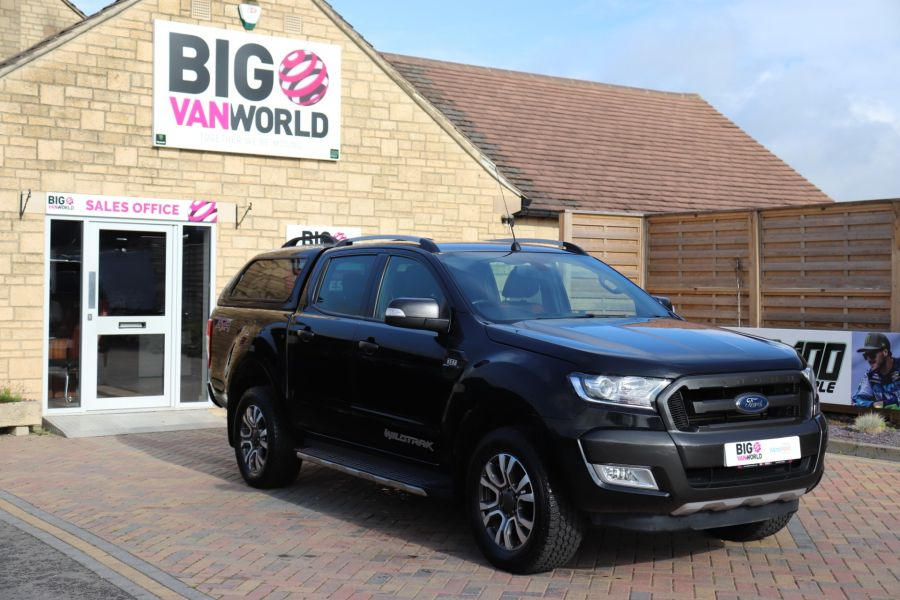 FORD RANGER WILDTRAK TDCI 200 4X4 DOUBLE CAB WITH TRUCKMAN TOP - 9555 - 2
