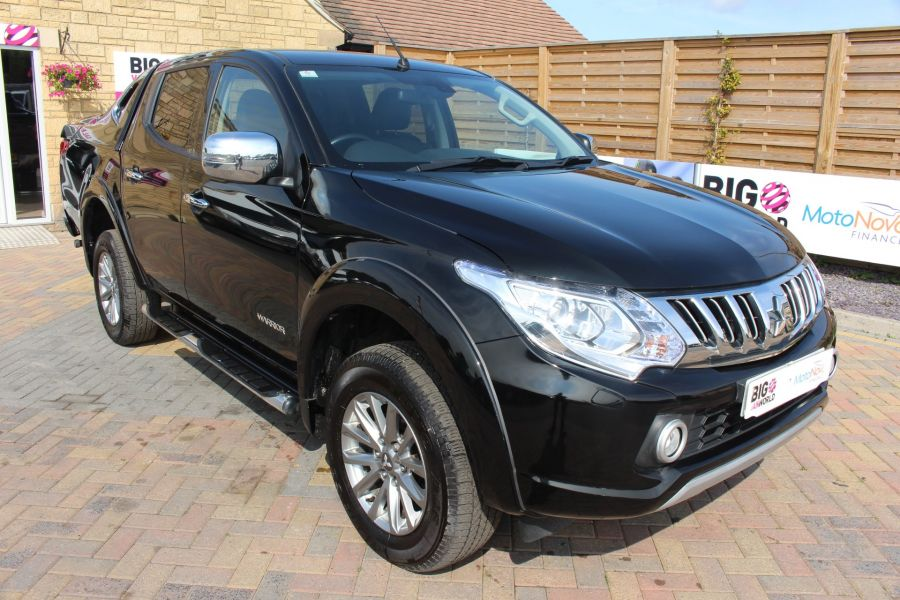 MITSUBISHI L200 DI-D 178 4WD WARRIOR DOUBLE CAB WITH MOUNTAIN TOP - 6974 - 1