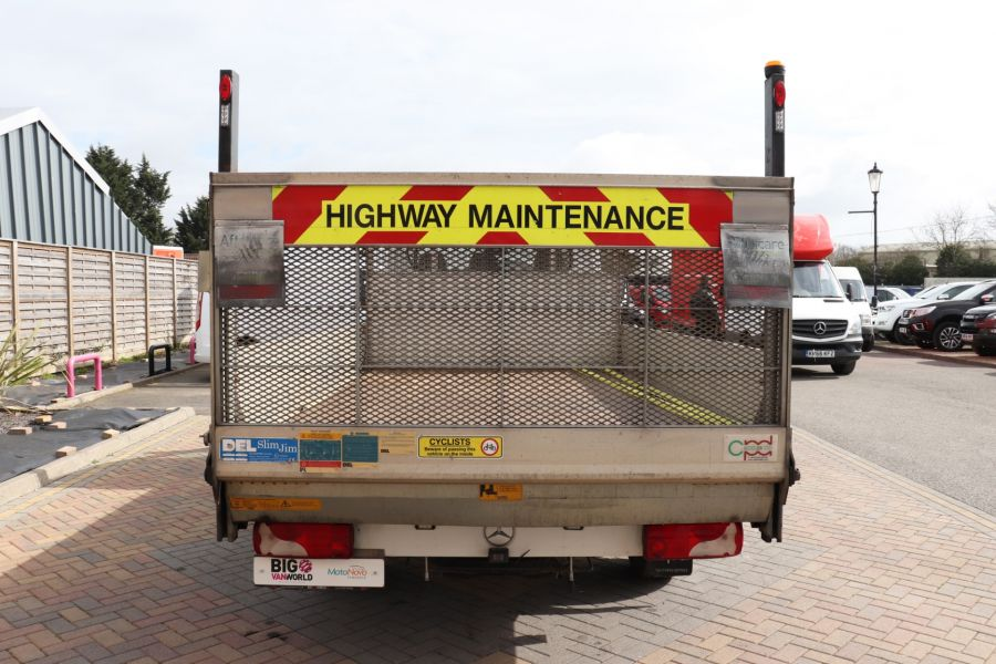 MERCEDES SPRINTER 314 CDI 140 LWB SINGLE CAB ALLOY DROPSIDE WITH TAIL LIFT  (14002) - 12361 - 9