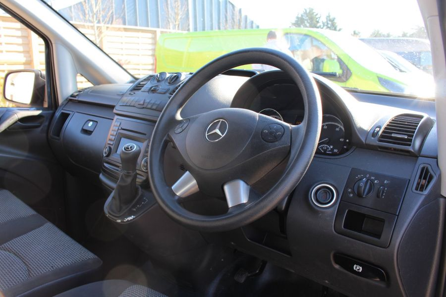 MERCEDES VITO 113 CDI 136 BLUEEFFICIENCY LWB LOW ROOF AUTO - 7315 - 12