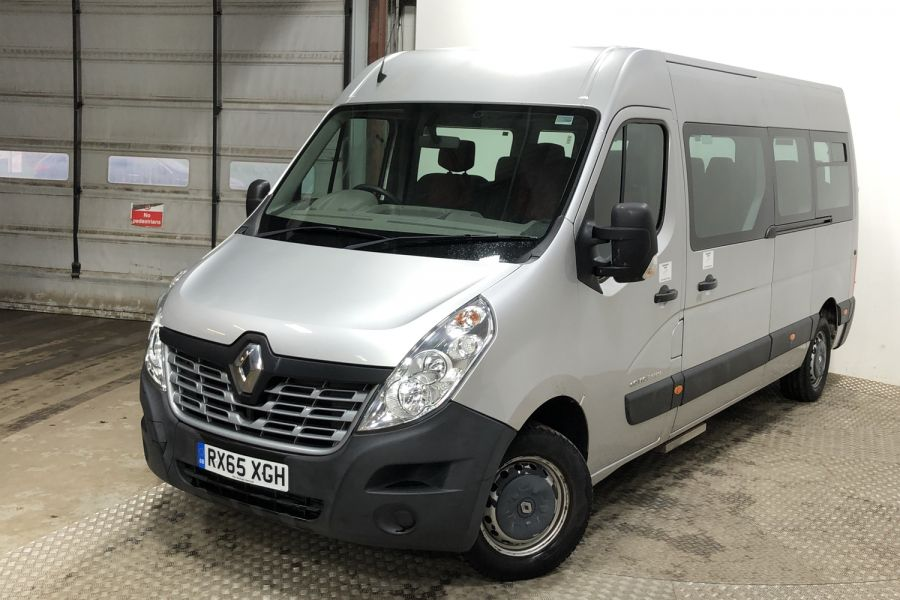 RENAULT MASTER LM39 DCI 150 BUSINESS LWB 17 SEAT BUS MEDIUM ROOF - 12070 - 5