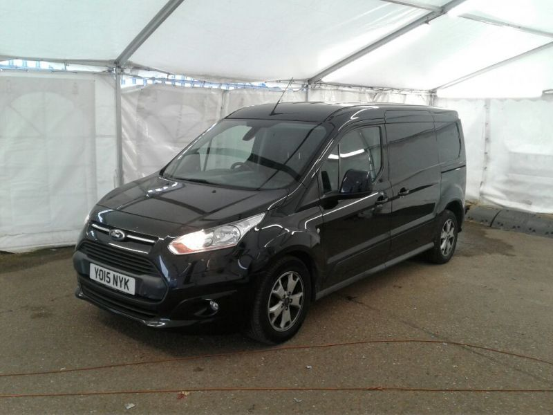 FORD TRANSIT CONNECT 240 TDCI 115 L2H1 LIMITED LWB LOW ROOF - 9977 - 1