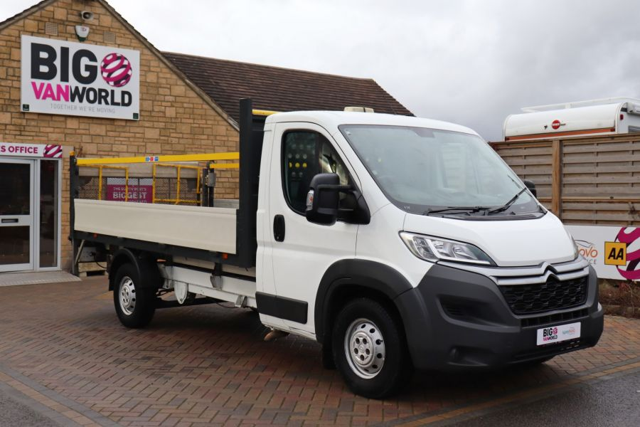 CITROEN RELAY 35 HEAVY HDI 150 ENTERPRISE L4 'ONE STOP' ALLOY DROPSIDE WITH TAIL LIFT - 10284 - 3