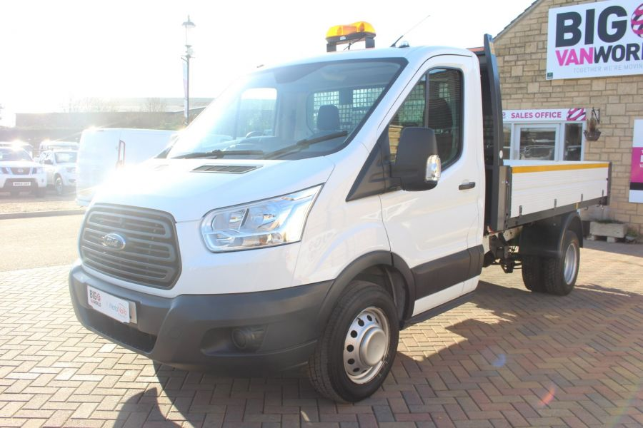 FORD TRANSIT 350 TDCI 125 SINGLE CAB 'ONE STOP' ALLOY TIPPER DRW - 7213 - 16