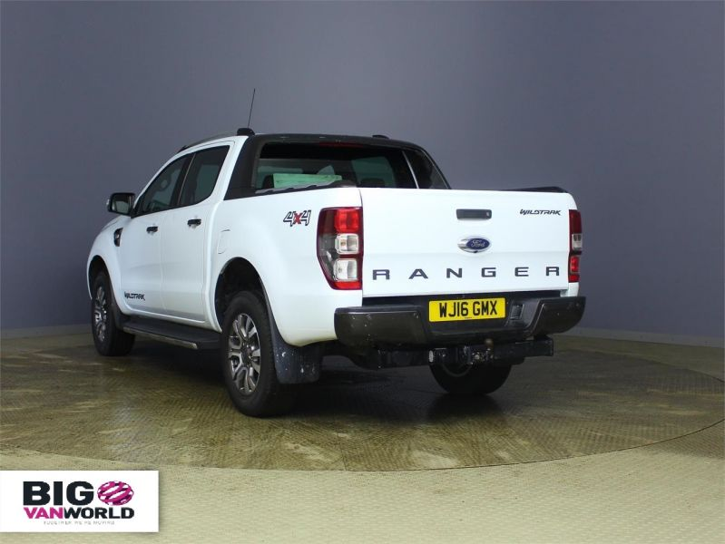 FORD RANGER WILDTRAK TDCI 197 4X4 DOUBLE CAB AUTO - 7637 - 4