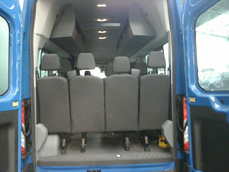 FORD TRANSIT 460 TDCI 125 L4 H3 TREND 17 SEAT BUS HIGH ROOF DRW RWD - 8681 - 4