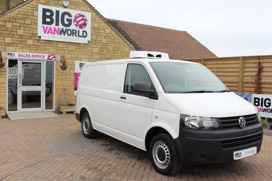 VOLKSWAGEN TRANSPORTER T26 TDI 84 STARTLINE SWB LOW ROOF FRIDGE VAN - 7334 - 3