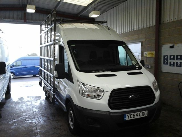 FORD TRANSIT 350 TDCI 125 L3 H3 LWB HIGH ROOF FWD - 7010 - 1