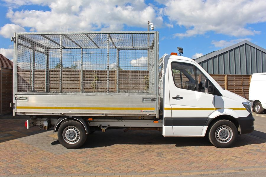 MERCEDES SPRINTER 314 CDI 140 SINGLE CAB CAGED ALLOY TIPPER - 9303 - 4