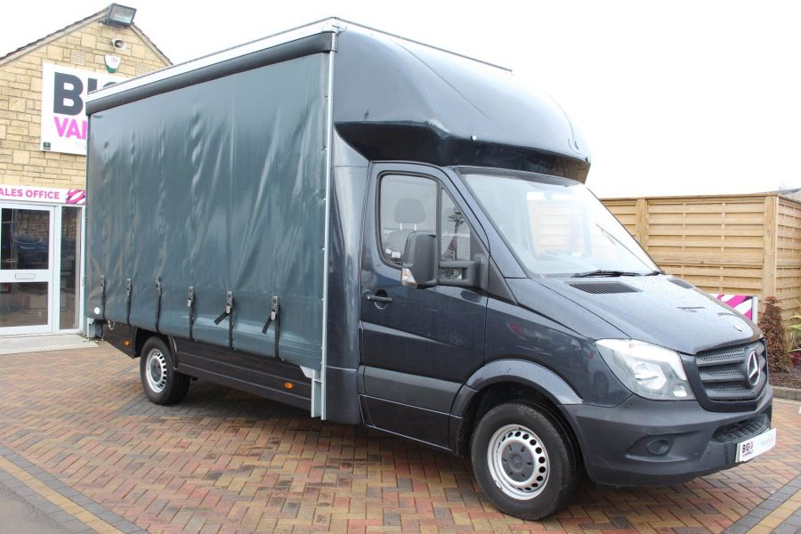 MERCEDES SPRINTER 313 CDI LWB 14FT CURTAIN SIDE BOX - 5627 - 2