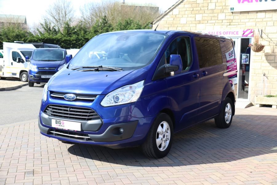 FORD TRANSIT CUSTOM 310 TDCI 130 L1H1 LIMITED DOUBLE CAB 6 SEAT CREW VAN FWD - 10553 - 9