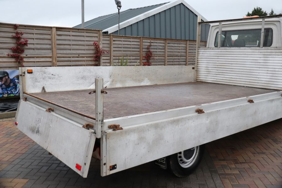 VOLKSWAGEN CRAFTER CR35 TDI 140 BMT LWB SINGLE CAB ALLOY DROPSIDE - 12073 - 32