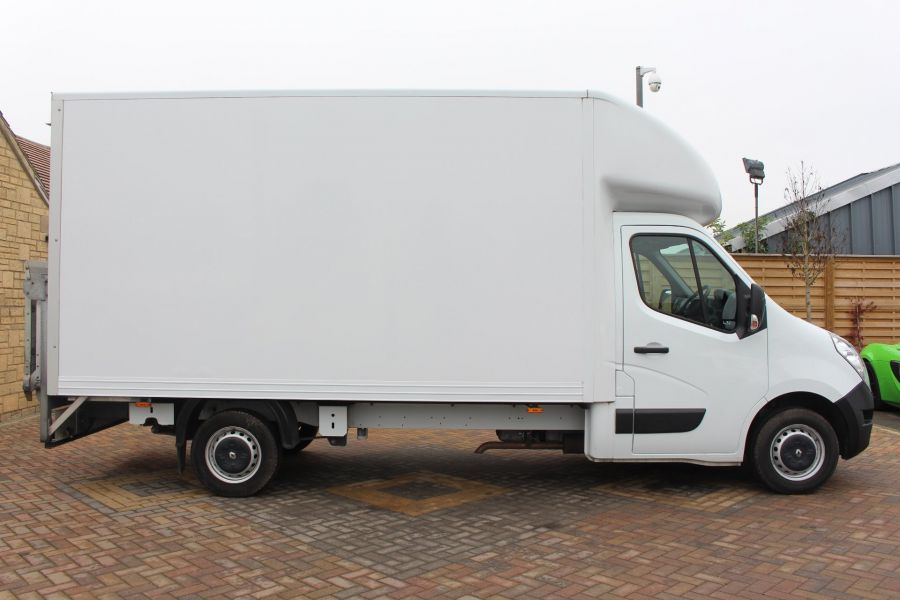 RENAULT MASTER LL35 DCI 125 BUSINESS LWB LUTON WITH TAIL LIFT  - 6880 - 3
