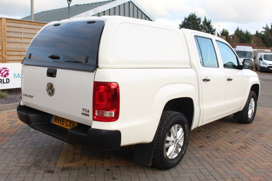 VOLKSWAGEN AMAROK DC TDI 140 STARTLINE 4MOTION DOUBLE CAB WITH TRUCKMAN TOP - 8652 - 5