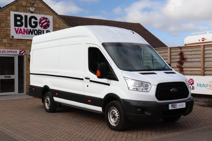FORD TRANSIT 350 TDCI 125 L4H3 JUMBO HIGH ROOF RWD - 10472 - 3