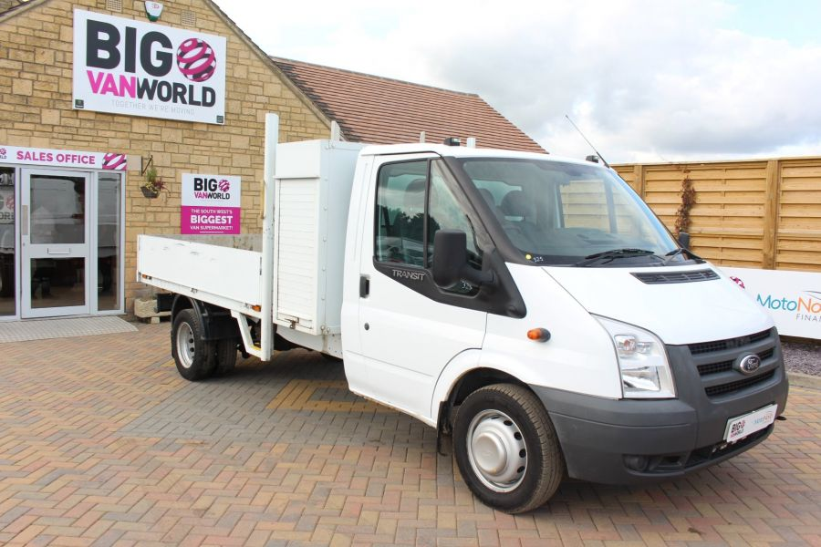 FORD TRANSIT 350 TDCI 100 LWB ALLOY DROPSIDE WITH TOOL BOX DRW - 6528 - 2