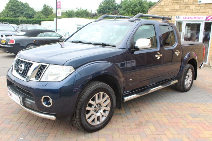 NISSAN NAVARA OUTLAW DCI 231 4X4 DOUBLE CAB WITH TONNEAU COVER - 7877 - 8
