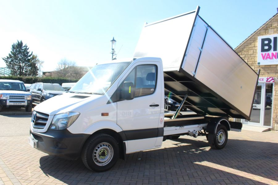 MERCEDES SPRINTER 313 CDI 129 MWB SINGLE CAB NEW BUILD ARBORIST ALLOY TIPPER - 9307 - 7