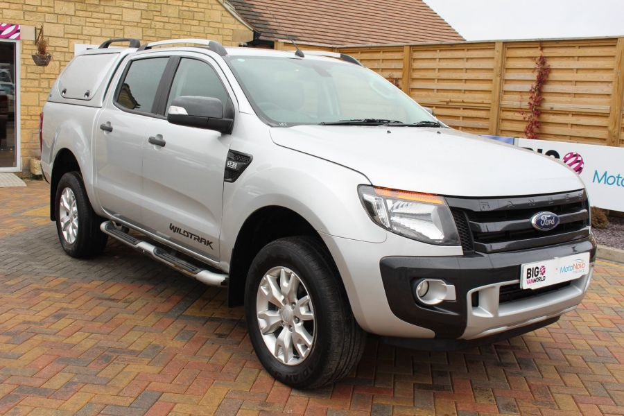 FORD RANGER WILDTRAK 4X4 TDCI 197 DOUBLE CAB WITH TRUCKMAN TOP - 7516 - 3